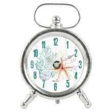 Table Clock 12x4.5x17.5 Starfish