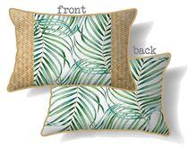 Cushion 30x50 Hibiscus PALMS