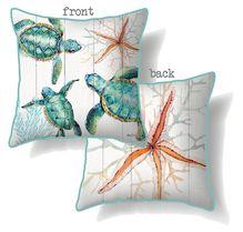 Cushion 60x60 Turtles TRIPLE