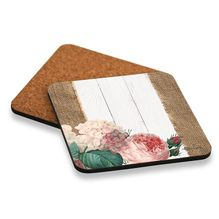 Coaster S/6 10x10 Heirloom FLORAL