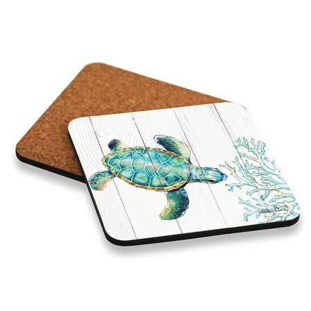 Coaster S/6 10x10 Turtles PATTERN