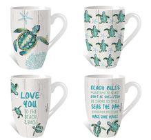 Mug Pk 12pc Assorted Turtles