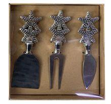 Cheese Knife Set of 3 STARFISH
