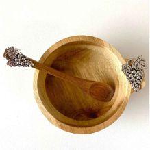 Dip Bowl & Spoon Set 15x11x6 GRAPES