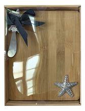 Board & Knife Set 24x19x3 STARFISH