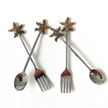Cutlery Set of 4 STARFISH
