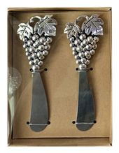 Cheese Knife Set of 2 GRAPES