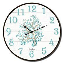 Clock 22cm Reef CORAL