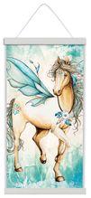 Canvas Scroll 50x90 Pegasus HORSE