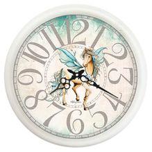Clock 40cm Pegasus HORSE