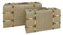 Suitcase S/2 L62x36x22 M51x29x16 GREY