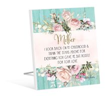 Sentiment 12x15 3D English Rose MOTHER