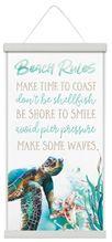 Canvas Scroll 30x60 Sea Turtle RULES