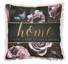 Cushion 45x45 Midnight Floral HOME