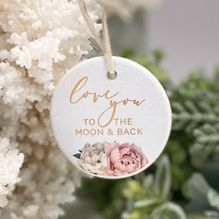 Hanging Plaque Mothers Day MOON