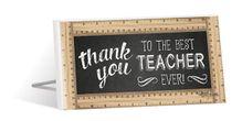Sentiment 10x20 Teacher THANK YOU