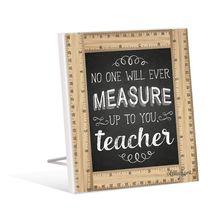 Sentiment Plaque 12x15 Teacher MEASUR