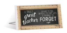 Sentiment Plaque 10x20 Teacher GREAT