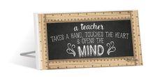 Sentiment Plaque 10x20 Teacher MIND