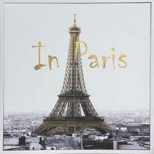 Shadow Framed Painting 60x60 PARIS