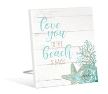 Sentiment Plaque 12x15 3D Reef LOVE