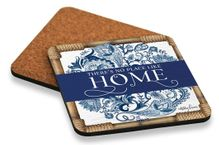 Coaster S/6 10x10cm Chippendale HOME
