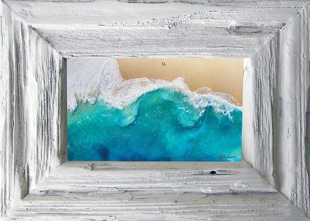 Photo Frame Beach 19x24 6x4