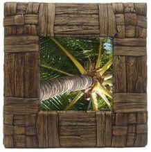 Photo Frame Palm 17.5x17.5 4x4