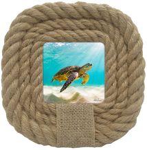 Photo Frame Turtles 20.5x20.5 4x4