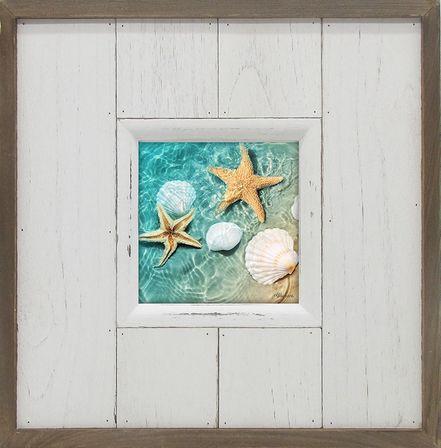 Photo Frame Starfish 24x24 4x4