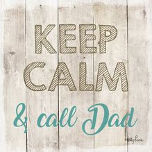Canvas 20x20 Fathers Day KEEP