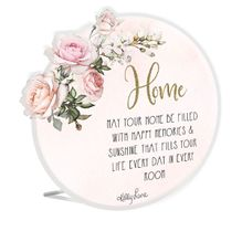 Sentiment 16x16 3D English Rose HOME