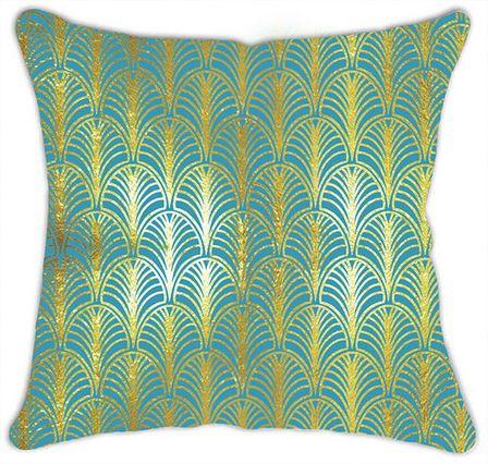 Cushion 45x45 BLUE DECO