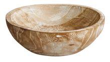 Bowl White Wash 20x20x7