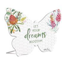 Sentiment Plaque 13x15 3D Blossom DREAMS