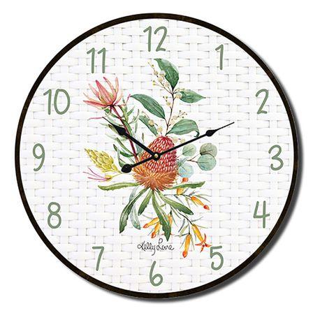 Clock 22cm Blossom PROTEA