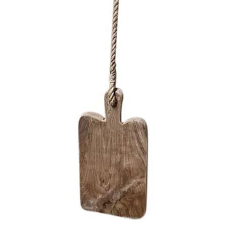Teak Wood Hanging Board 35cm