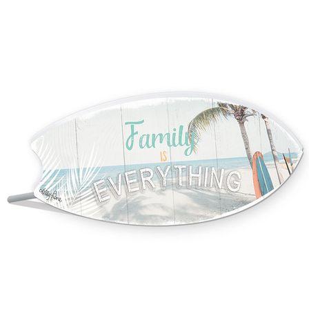 Sentiment Plaque 8.5x20 3D Wanderlust FAMILY