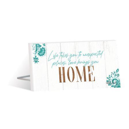 Sentiment Plaque 10x20 3D Country HOME