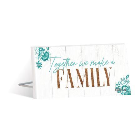 Sentiment Plaque 10x20 3D Country FAMILY