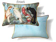 Cushions 30x50 Parrots BLUE