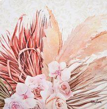 Canvas 20x20 Bismark ROSES