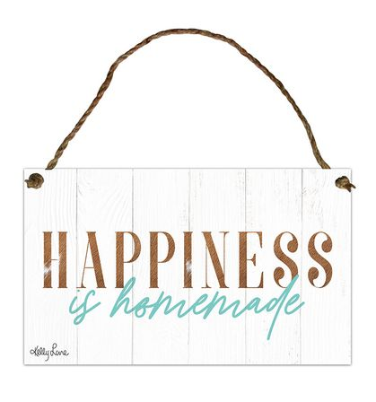 Hanging Tin Sign 18x30 Country HOMEMADE