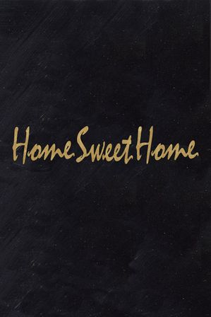 Painting 20x40 Home Sweet Home
