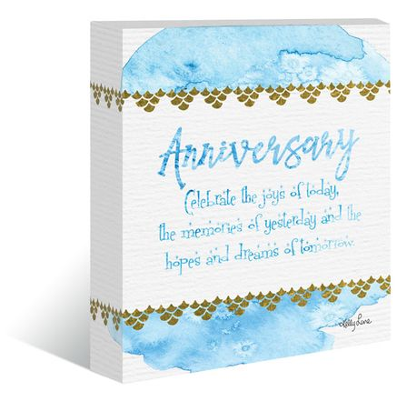 "Canvas ""13x15"" Mermaid ANNIVERSARY"
