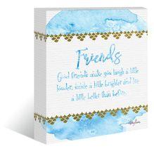 """Canvas """"13x15"""" Mermaid FRIENDS"""