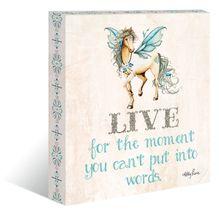 """Canvas """"13x15"""" Pegasus LIVE"""