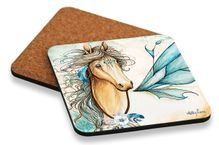 Coaster Cork S/6 10x10 Pegasus HOME