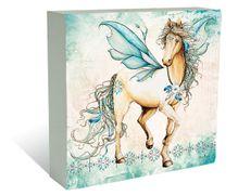 Plaque Block 40x40 Pegasus HORSE