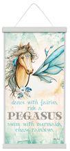 Canvas Scroll 30x60 Pegasus DANCE